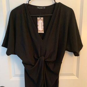 Black Twist MATERNITY dress
